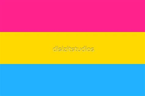 """""""Pansexual Flag"""" by disizitstudios 