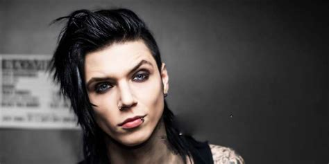 Founder and lead vocalist of 'Black Veil Brides' Andy Sixx