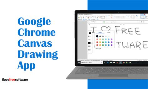 Google Chrome Canvas Drawing App To Draw, Annotate in Browser