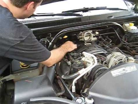 How to Change Your Spark Plugs Part 1 - Jeep 4