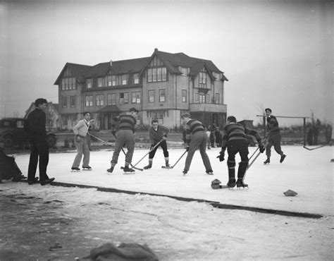 Vancouver College - Game of Shinny - Ice Hockey - Early