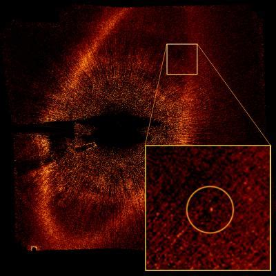 Hubble Takes First Visible Light Image of Extrasolar