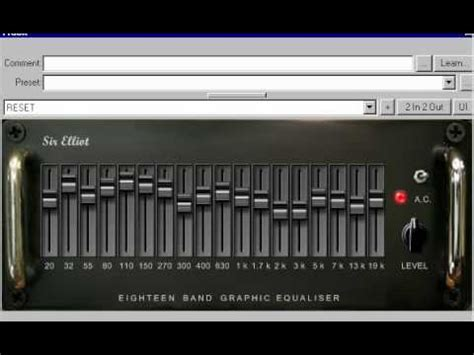 Free 18-Band Graphic Equalizer For Windows – Synthtopia