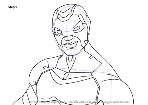 Learn How to Draw Cobalt Commando Carbide from Fortnite