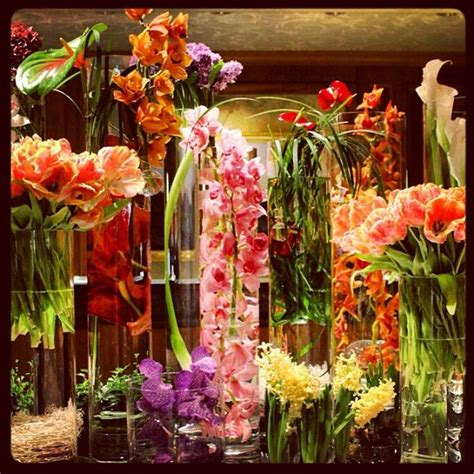 A rainbow of spring flowers welcome warmer days at @Four