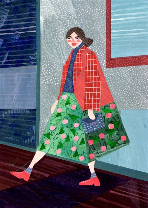 Paper Collages by Alice Lindstrom - ArtisticMoods