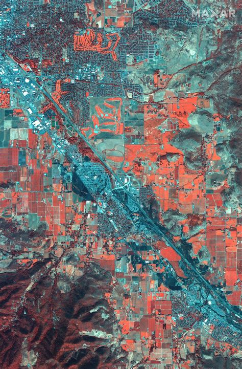 Oregon Fire Satellite Images From Before and After the