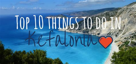 Top 10 things to do in Kefalonia   Footsteps on the Globe
