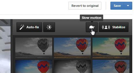 Add Slow Motion efffect to Youtube videos