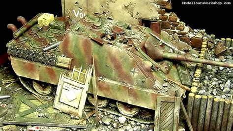 Diorama of the Day: Jagdpanther by Paul Keefe - YouTube