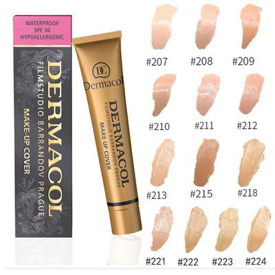 GENUINE Dermacol Make-up Cover Legendary High Covering