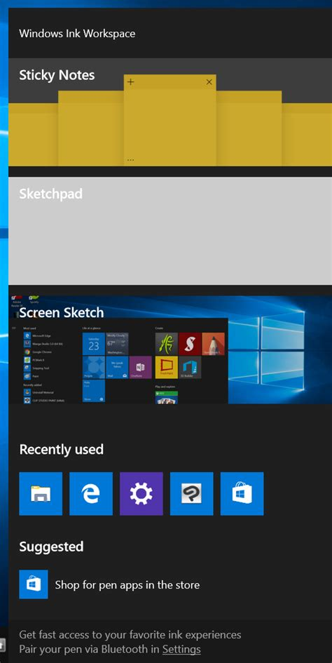 Windows 10 Build 14328 previews major ink and tablet mode