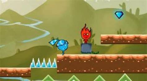 Oheň a voda 5   (FireBoy And WaterGirl New Adventure