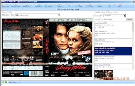 DVD Cover Printer 2009 - Download for PC Free