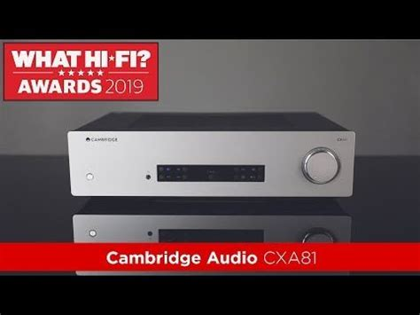 Stereo Amplifier Product of the Year: Cambridge Audio