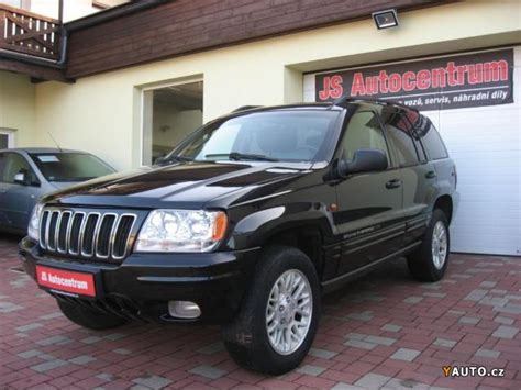 Prodám Jeep Grand Cherokee 2,7 CRD 163PS Limited Edition