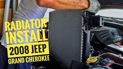 DIY/How to: Radiator Install for a 2008 Jeep Grand