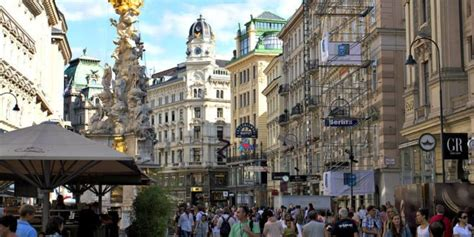 Vienna City Centre - Old Town Vienna Routes And Map