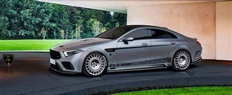 2019 Mercedes-AMG CLS53 Widebody Rendered with Rally-Spec