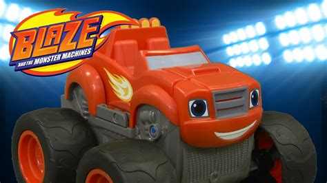 Blaze and the Monster Machines Blaze Transforming Fire