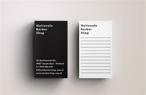 10 Sample Blank Business Card Templates to Download