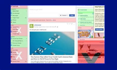 Hide Facebook Posts Containing Specific Words from Your