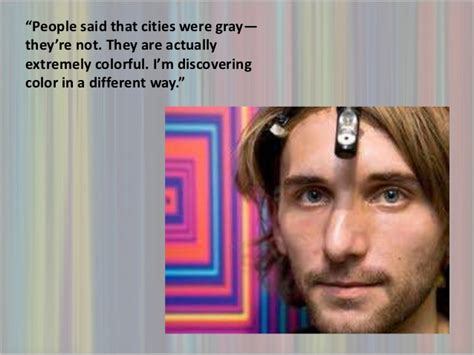 Neil harbisson The Sound of Colors