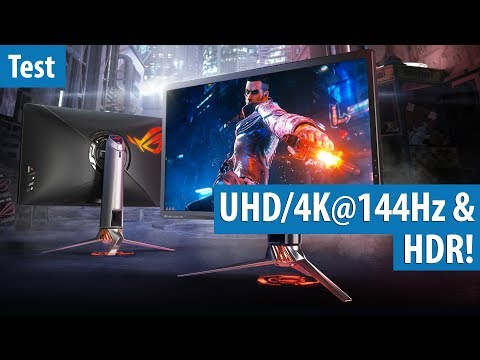 Guess how much this Asus ROG monitor with 4K, HDR and