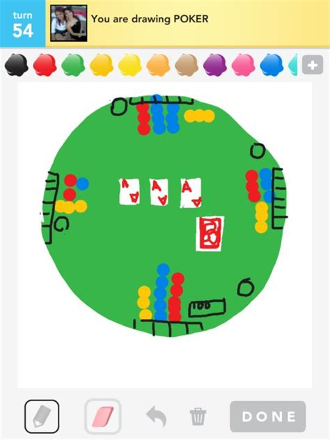 Poker Drawings - How to Draw Poker in Draw Something - The