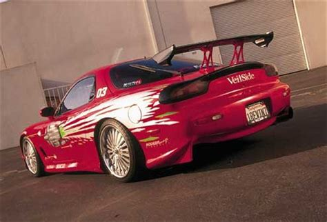 Dom's RX7 Specs - Fast and Furious Facts