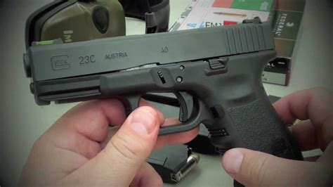 GLOCK 23C - Review - YouTube