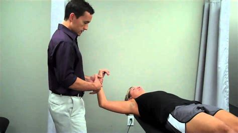 Active Release Technique- Subscapularis Muscle - YouTube