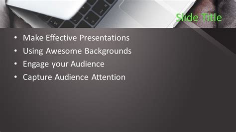 Free Information Technology PowerPoint Template - Free