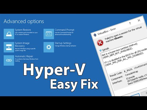 How to Install or Enable Hyper-V Virtualization in Windows
