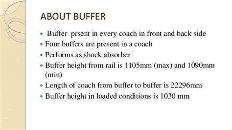 A project on buffer