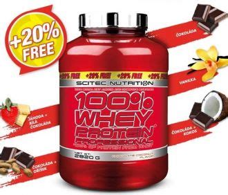 LIMIT EDITION Scitec 100% Whey Protein Professional 2820g