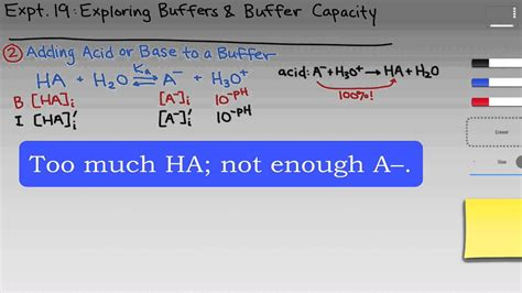 Exploring Buffers and Buffer Capacity | Intro & Theory