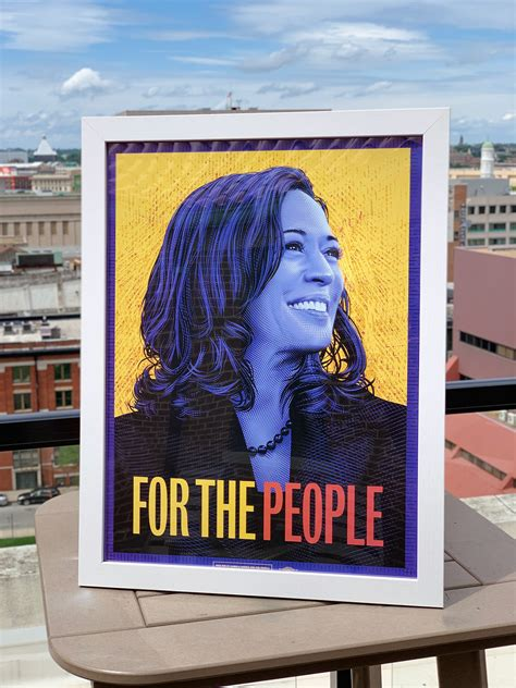 Kamala Harris for the People: Campaign Poster on Behance