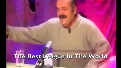 Spanish Laughing Guy reacts to English clubs' performance