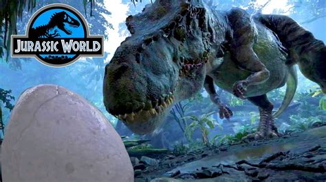 REAL Angry T-REX Mommy & Baby Dinosaur Eggs Jurassic