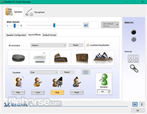 Realtek HD Audio Manager Download (2020 Latest) for