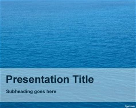 Nautical PowerPoint template